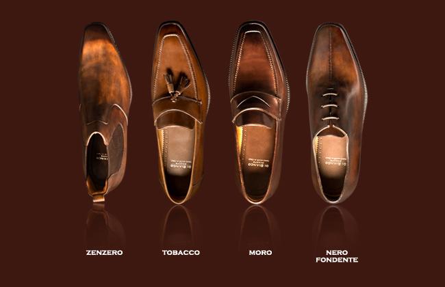 Custom Handmade Italian Shoes   Astor & Black Style Log