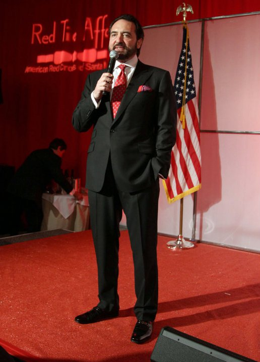 "Our client Nick Stellino was honored by the American Red Cross at their 2011 Red Tie Gala in Santa Monica with the ""Most Humanitarian Chef"" Award."
