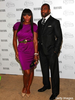 Darrelle Revis, wearing Astor & Black, attends the 2012 Range Rover Evoque New York City debut at Highline Stages on April 19, 2011 in New York City.