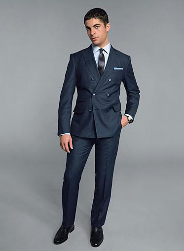 How to Wear a Double-Breasted Suit: From Be Dapper. | Astor ...