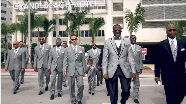 VIDEO: Astor & Black Tuxedos Stand Out in Miami Wedding. | Astor ...