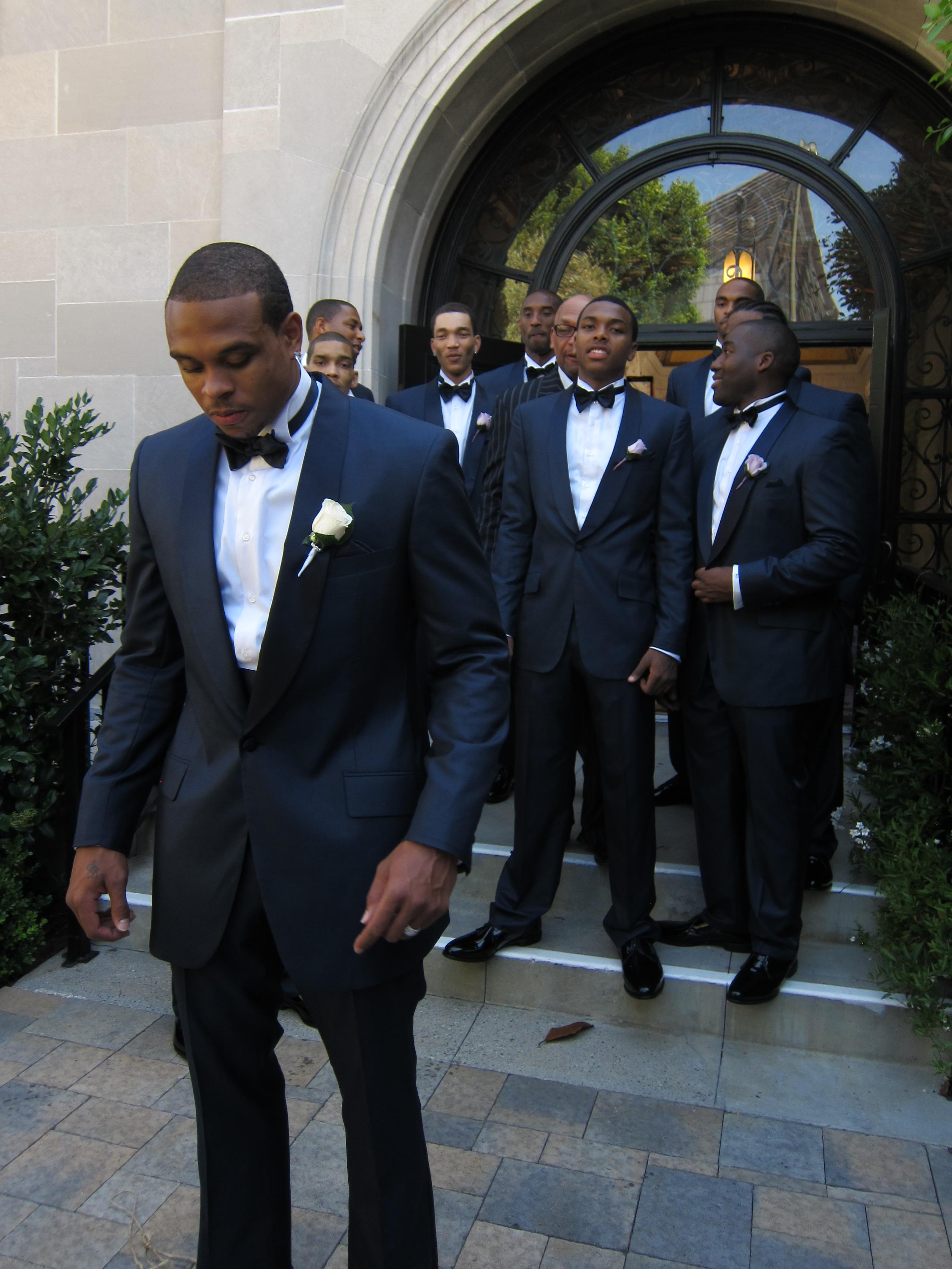 The Lavish Wedding of Shannon Brown & Monica: Astor & Black ...