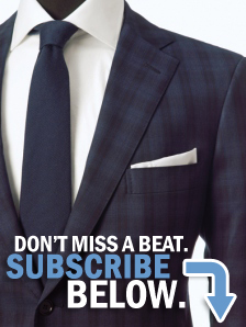 Don't miss a beat. Subscribe below.