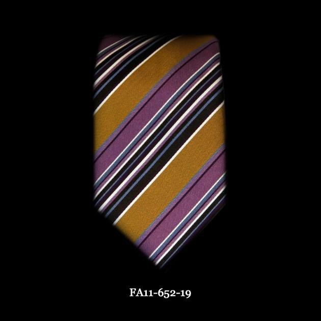 Astor & Black Multi Stripe Tie FA11-652-19#