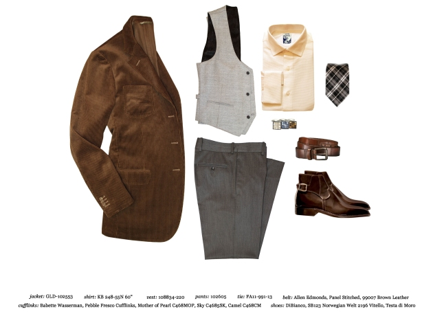Astor & Black Style Vest Look
