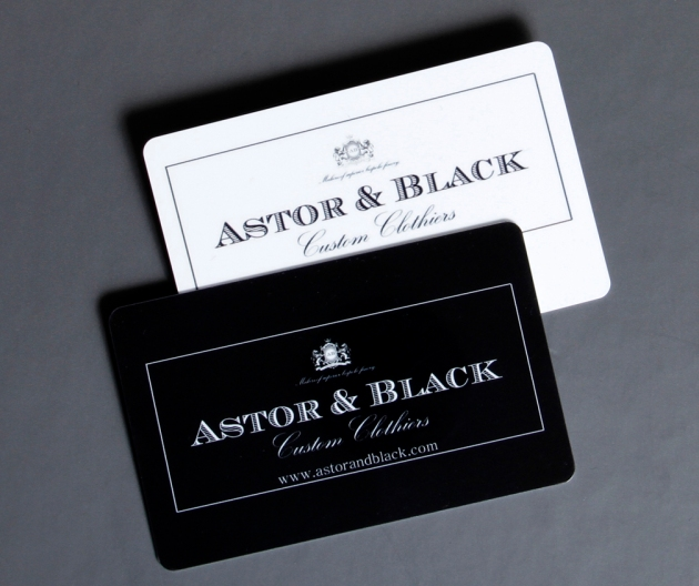 Astor & Black Gift Cards Gift Certificates