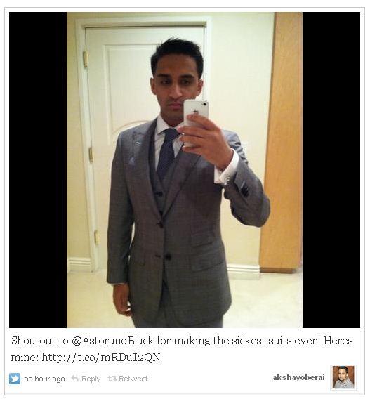 Sickest Suits Ever Tweet Astor Black