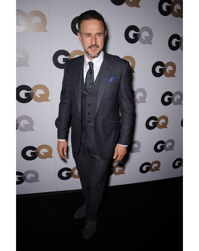 David Arquette at GQ's Man of the Year Event (Astor & Black)