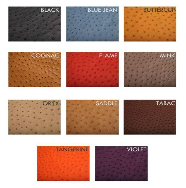 Ostrich Colors