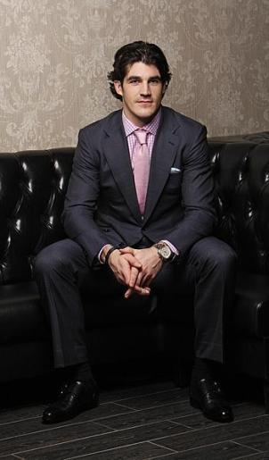 Brian Boyle, New York Rangers, Astor & Black suit