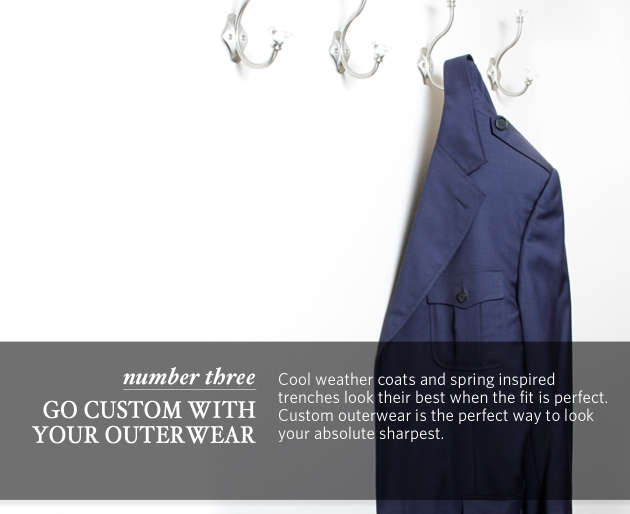 Check your closet and do a quick inventory. You want at least 4 crisp white shirts that fit you perfectly. Get rid of anything baggy.  Anything dingy.  Anything that doesn't look really good on you. Then address your pinks, whites, and blues and apply the same rules. If you find the need to restock your custom shirt collection, call your Professional Clothier.