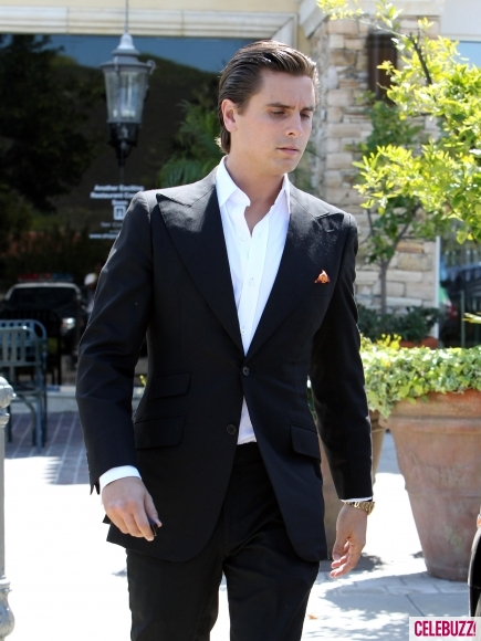 Scott Disick Suits up in Astor & Black