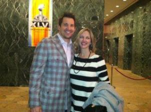 Dallas Clark, Superbowl Party Brian Seyfert Astor & Black Indianapolis