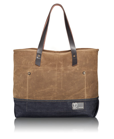 Carry All Tote. The appeal of this limited edition tote is its simple design and use of durable, natural fabrics and leather